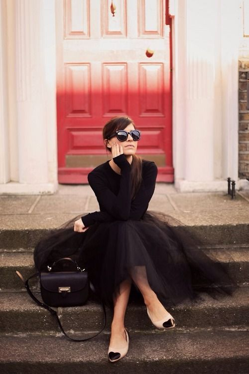 ballerina style www.roxypaay.com fashion inspiration carrie skirt
