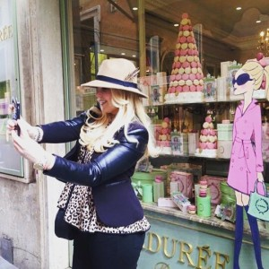 laduree roxy paay shoppen selfie