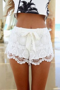 lace short look